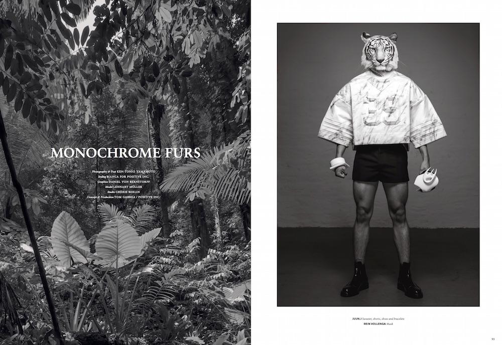 HBMAG#6 - Monochrome Furs